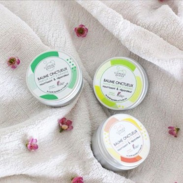 Shea Balm and Organic Oils, Summer Flowers Fragrance, top view