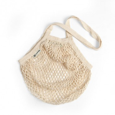 Mesh Organic Cotton Bag, front view