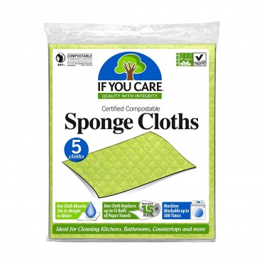 Biodegradable and Compostable Kitchen Sponge Cloth, front view