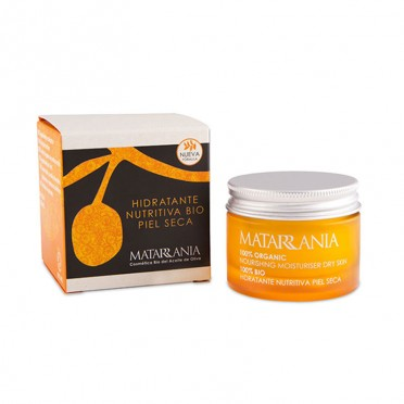 Matarrania, Nourishing Moisturizing Cream for Dry skin 100% bio, front view