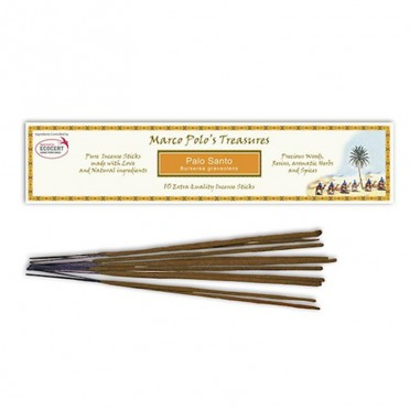 Incienso Palo Santo en Stick, Marco Polo's Treasures, vista frontal