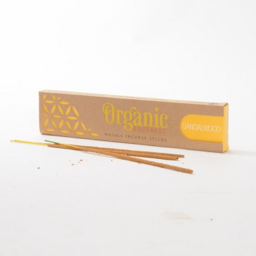 Sandalwood Masala Incense, front view