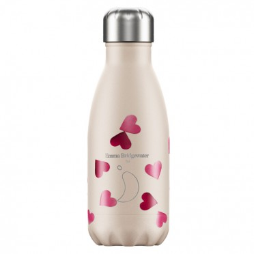 Botella Chilly's Inox Emma Bridgewater Corazones, 260 ml., vista frontal