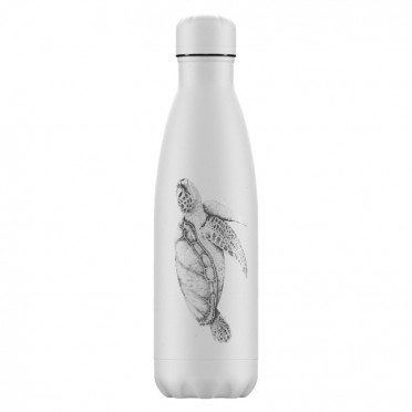 Chilly's Sea Life Turtle Bottle, 500 ml., front view