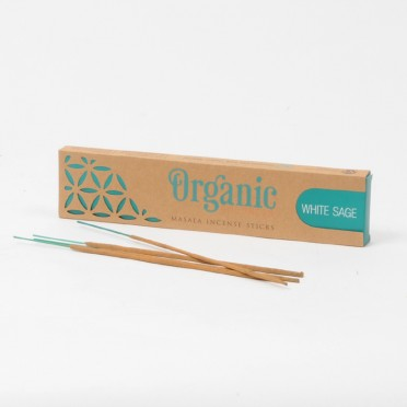 White Sage Masala Incense, front view