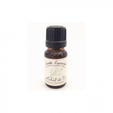 Organic essential oil of Tea Tree, 12ml., front view