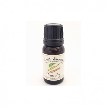 Organic essential oil of Cinnamon, 12ml., front view