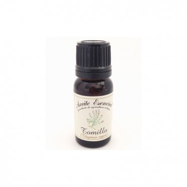 Organic essential oil of Thyme, 12ml., front view