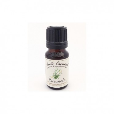 Ecological essential oil of Citronella, 12ml., front view