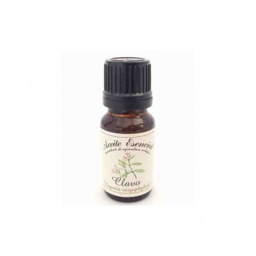 Organic Clove essential oil, 12ml., front view