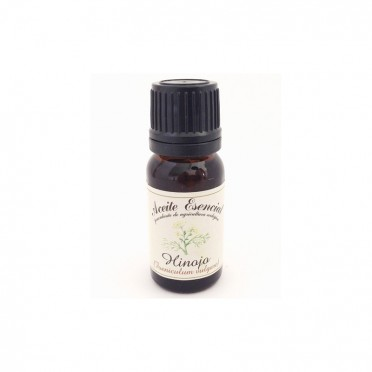 Organic fennel essential oil, 12ml., front view