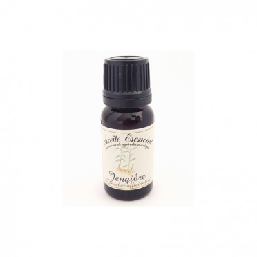 Organic essential oil of Ginger, 12ml., front view