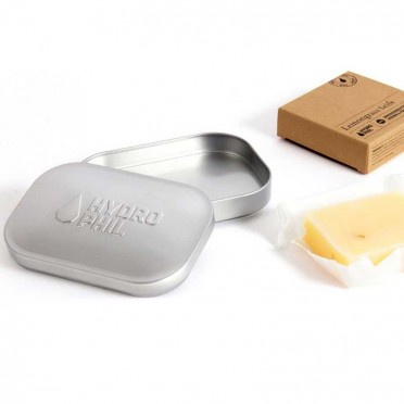 Metal travel soap dish, group view