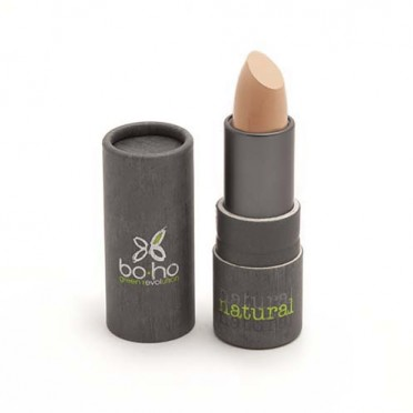 BIO concealers, BoHo Green (choose color), front view, clair beige