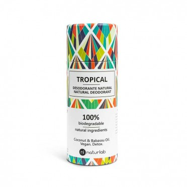 Natural, non-toxic deodorants - Naturlab tropical fragrance, front view