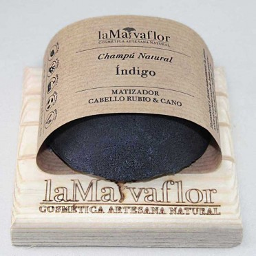Solid shampoo by INDIGO, Toner for blonde and gray hair, front view