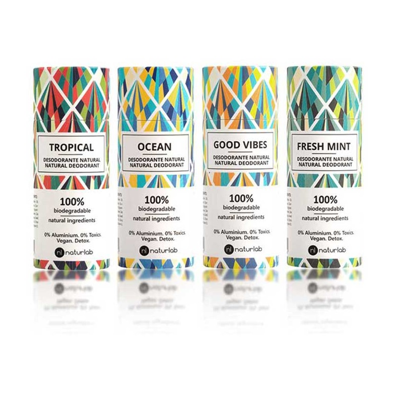 Natural, non-toxic deodorants - Naturlab (choose fragrance), front view