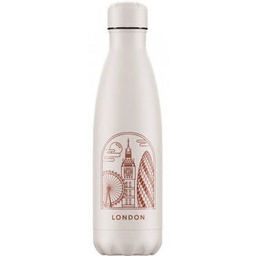 Chilly's Inox Bottles, City Collection (choose model), front view