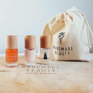 Set of 3 manicure kit (berry)