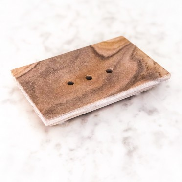 Stone Soap Holder, top view