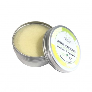 Shea Balm and Organic Oils - Sweet Citrus Fragance, top view